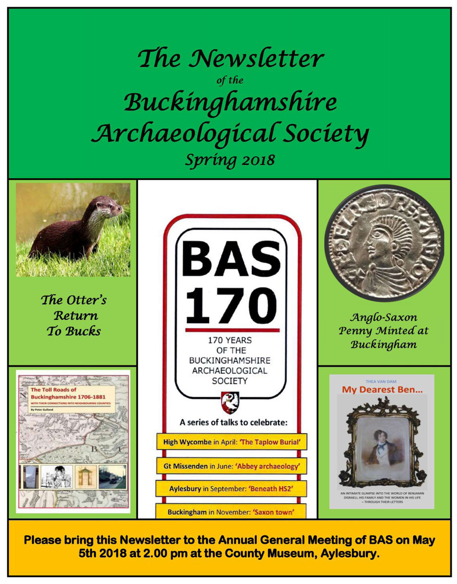 Cover of the BAS Spring 2018 newsletter