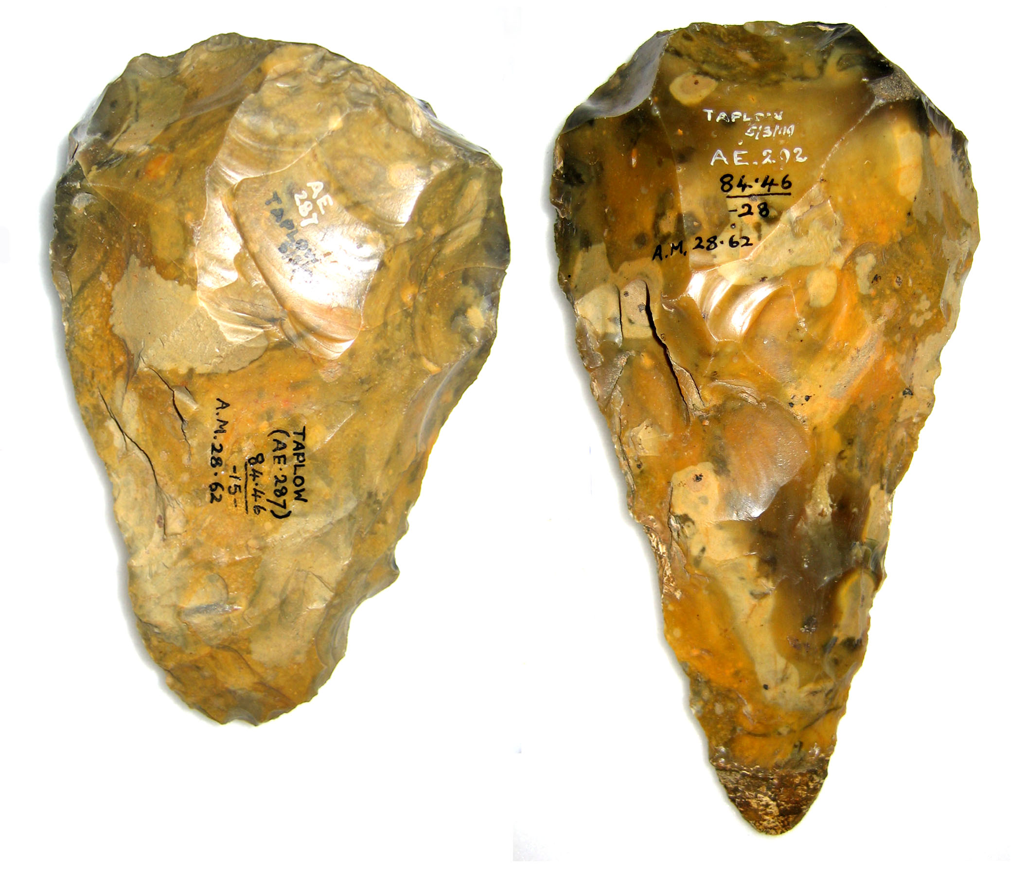 Dating hand axes