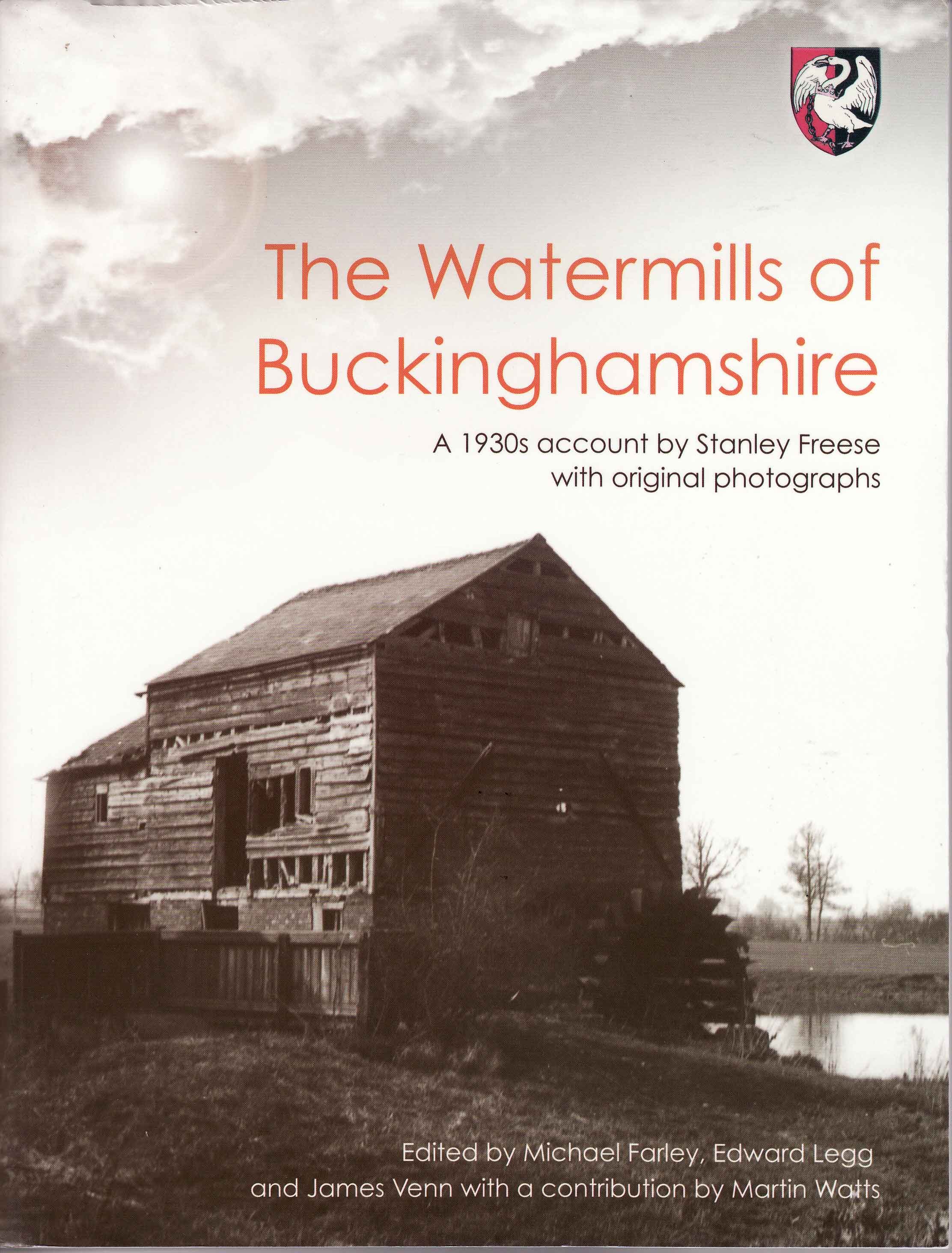 Watermills of Buckinghamshire cover